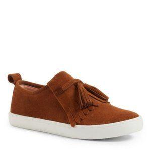 Kate Spade Lenna tassel fringe suede sneaker 6.5